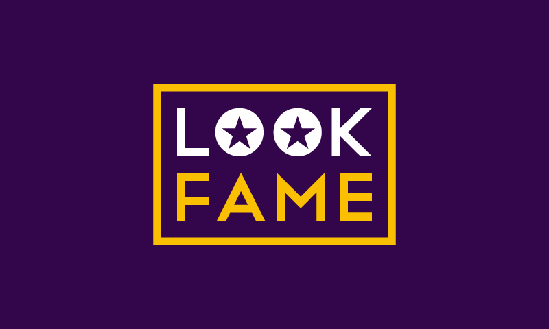 Lookfame - Writing company name for sale