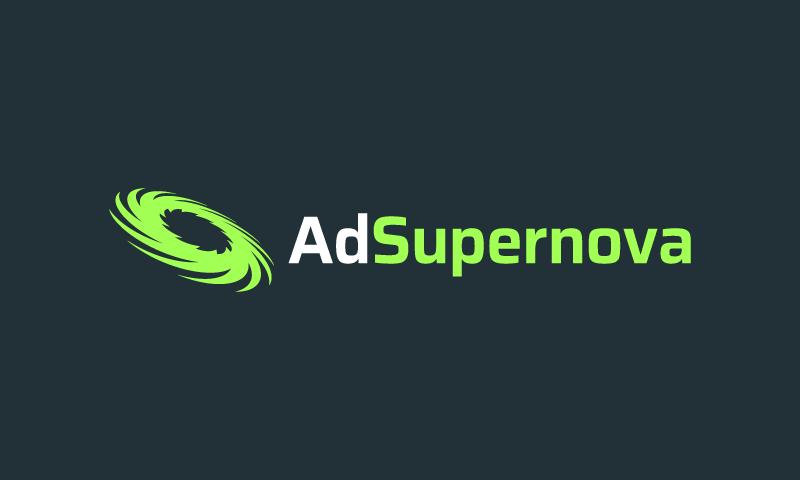 Adsupernova - Advertising company name for sale