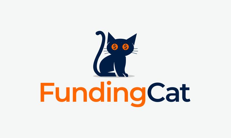 Fundingcat - Modern company name for sale