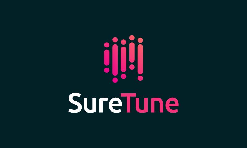 Suretune - Music domain name for sale