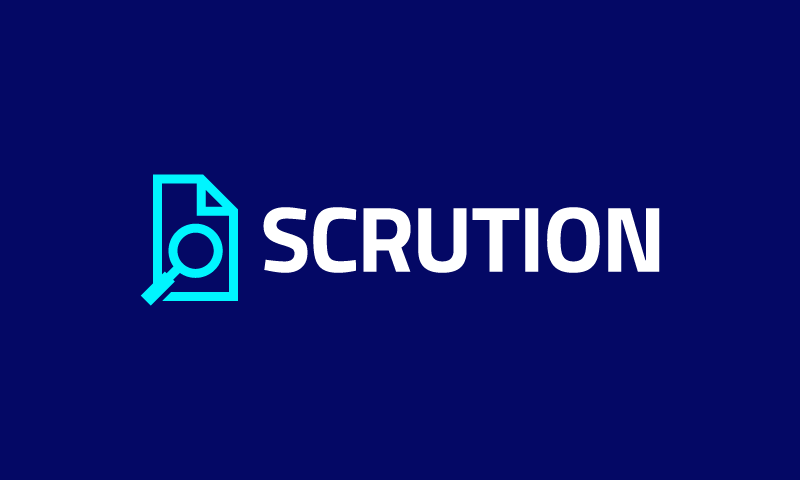 Scrution - Technology product name for sale