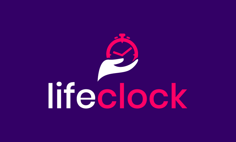 Lifeclock - Social networks startup name for sale