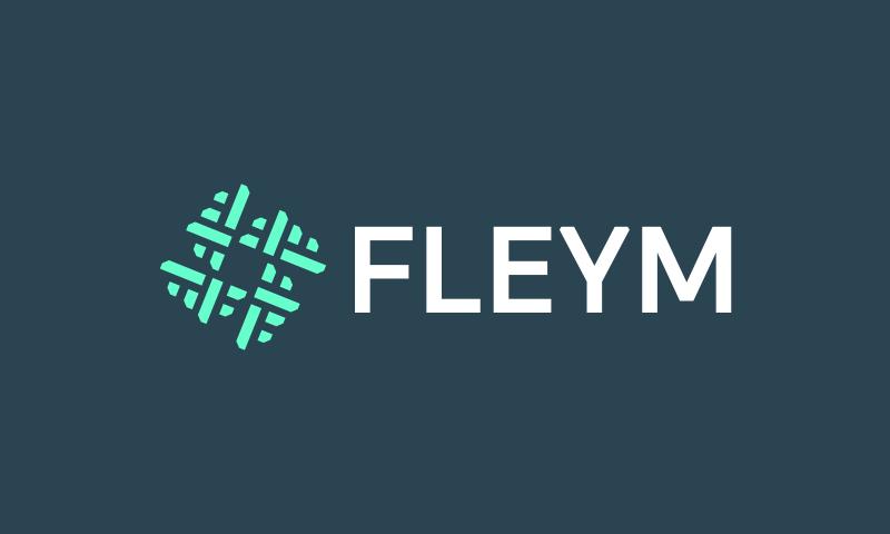 Fleym - Technology startup name for sale