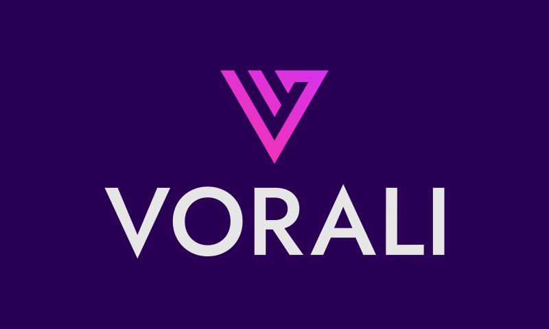 Vorali - Retail brand name for sale