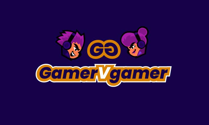 Gamervgamer - Online games startup name for sale