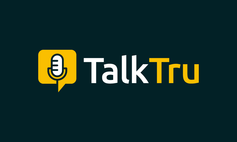 Talktru - Social business name for sale