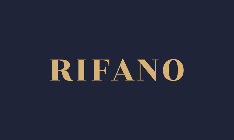 Rifano - Fashion business name for sale