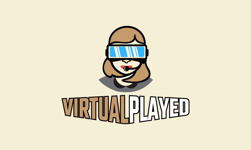 Virtualplayed - Virtual Reality business name for sale