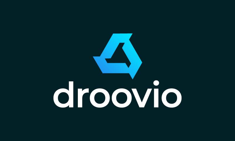 Droovio - Contemporary brand name for sale