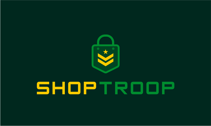 Shoptroop - E-commerce business name for sale