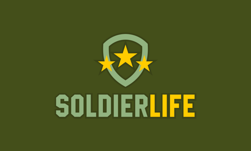 Soldierlife - Security startup name for sale