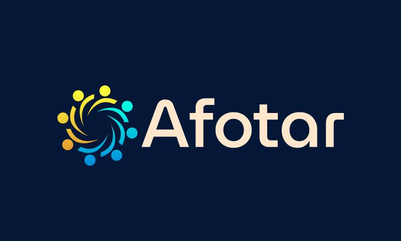 Afotar - Technology business name for sale