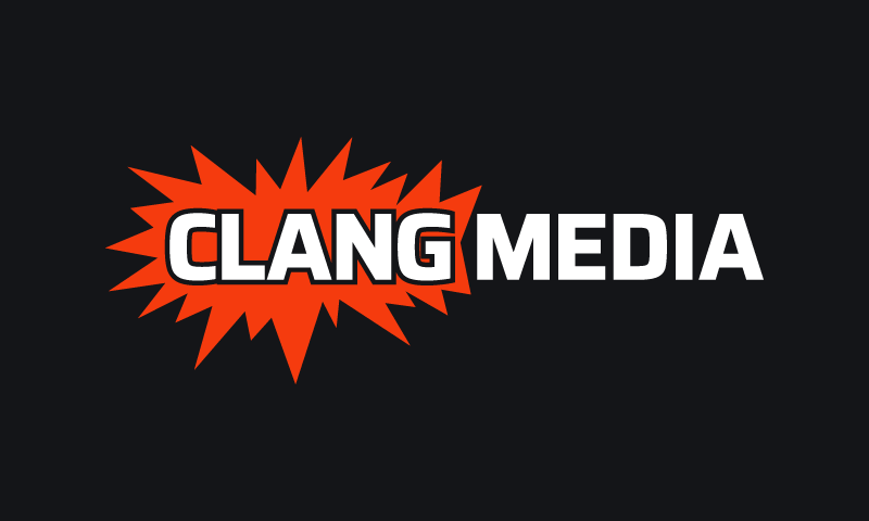 Clangmedia - Media startup name for sale