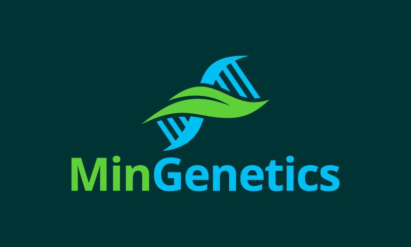 Mingenetics - Biotechnology domain name for sale