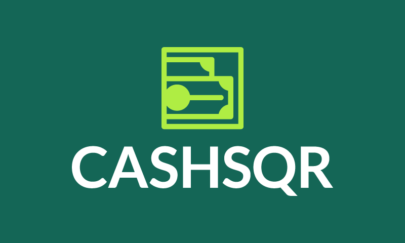 Cashsqr - Banking brand name for sale