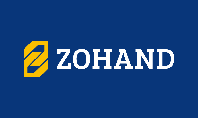 Zohand - Finance startup name for sale