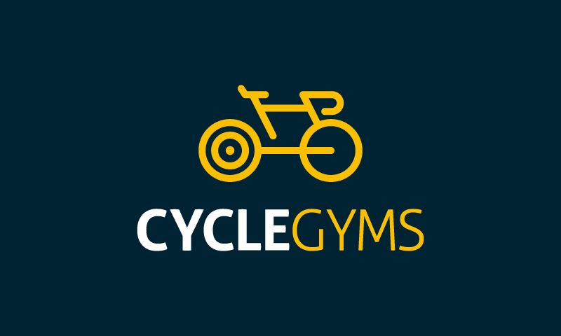 Cyclegyms - Fitness domain name for sale