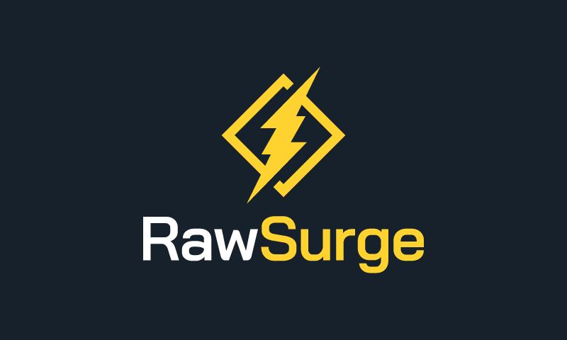 Rawsurge - Nutrition company name for sale