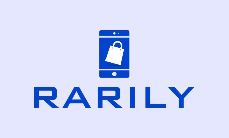 Rarily - E-commerce brand name for sale