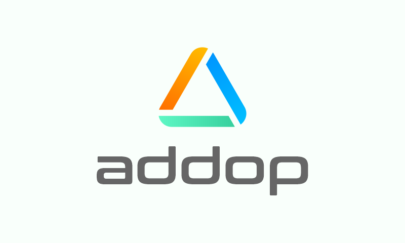 Addop - Retail startup name for sale