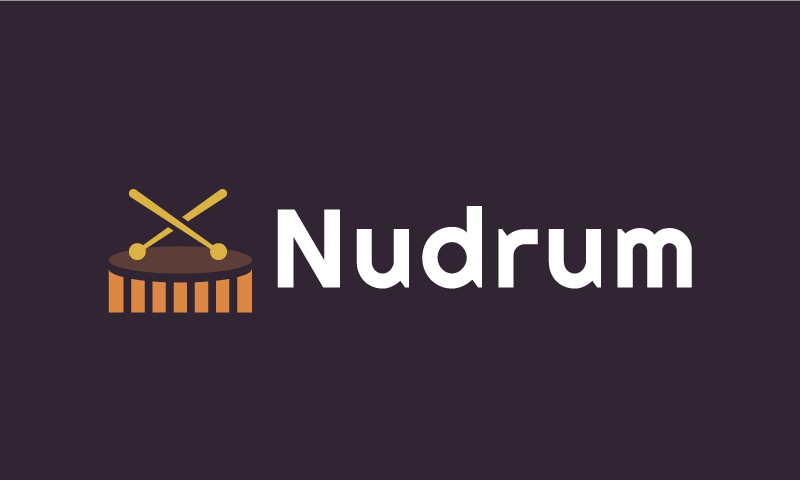 Nudrum - Audio startup name for sale