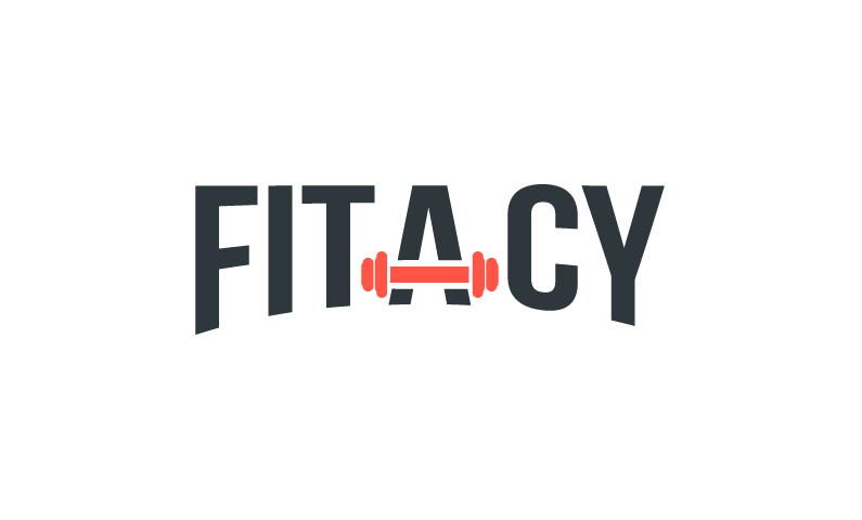 fitacy logo - Brand name for a company in the sports industry