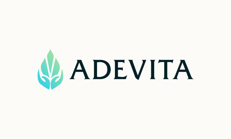 Adevita - Brandable domain name for sale
