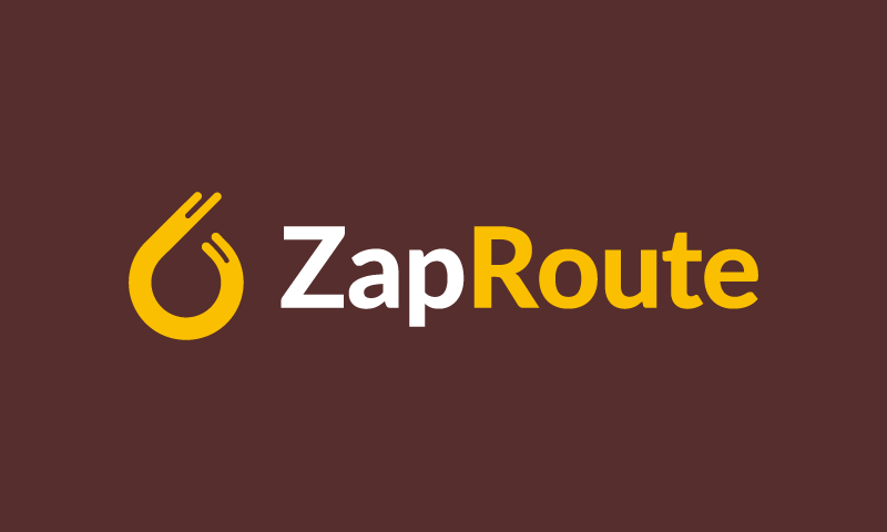 Zaproute - Logistics startup name for sale