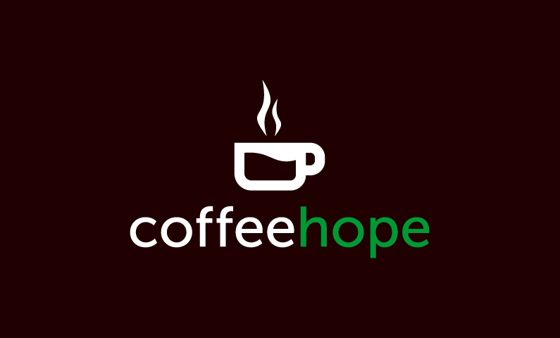 Coffeehope - Food and drink domain name for sale