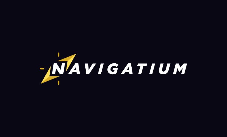 Navigatium - Contemporary business name for sale