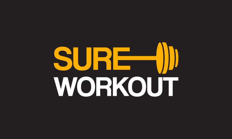SureWorkout logo