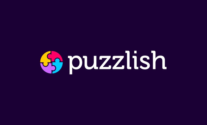 Puzzlish - Online games brand name for sale