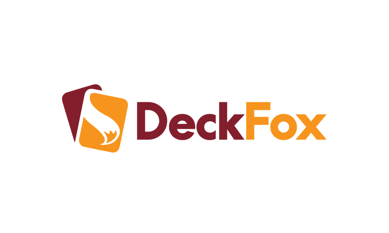 Deckfox - Playful company name for sale