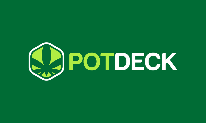 Potdeck - Cannabis company name for sale