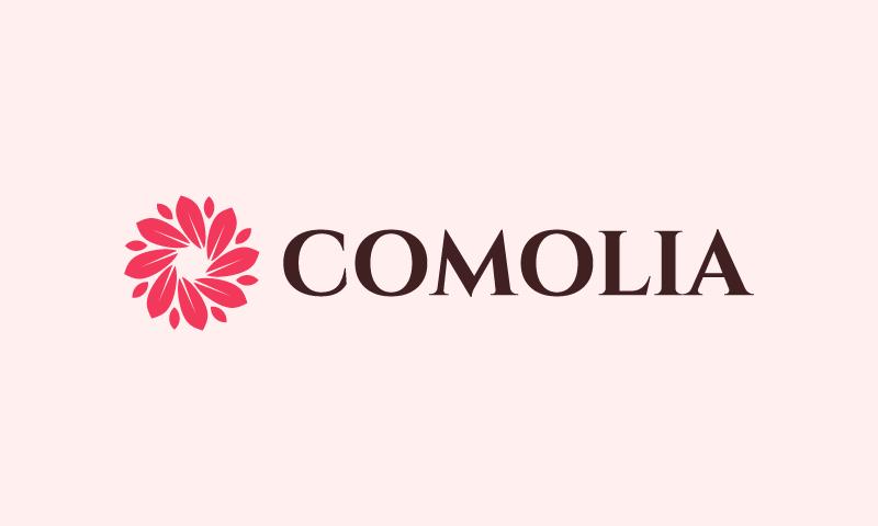 Comolia - Retail startup name for sale