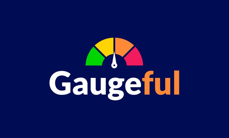 Gaugeful - AI domain name for sale