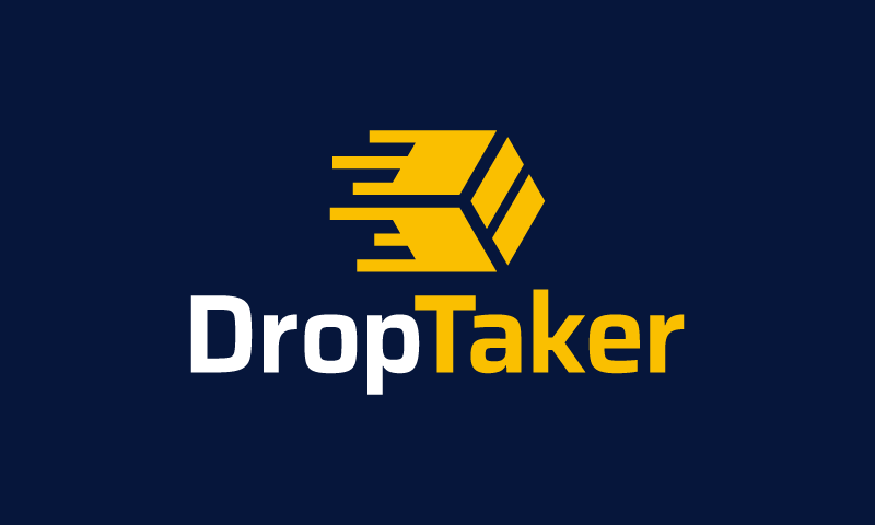 Droptaker - Retail startup name for sale