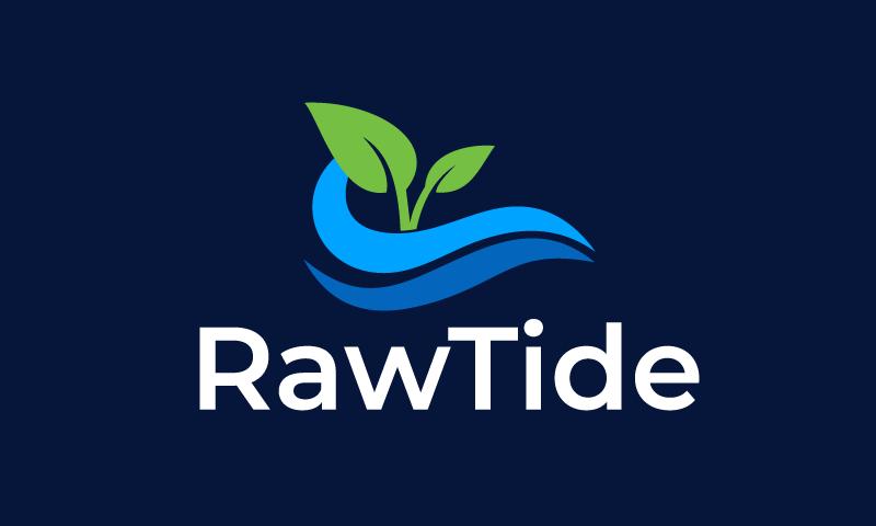 Rawtide - Media domain name for sale
