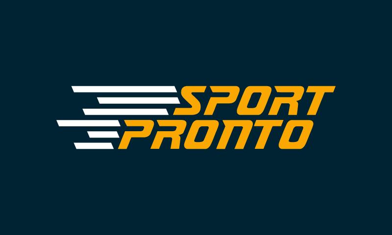 Sportpronto - Sports startup name for sale