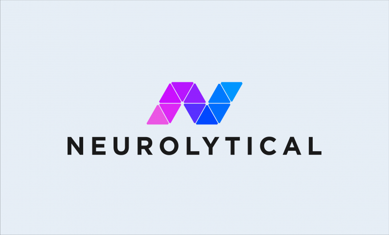 neurolytical logo - Inteligent business name