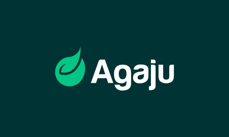 Agaju - Wellness domain name for sale