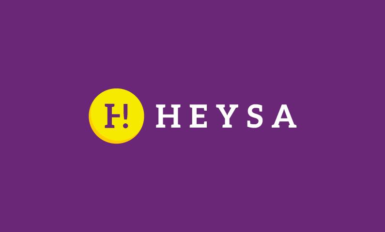 Heysa logo - Versatile abstract name