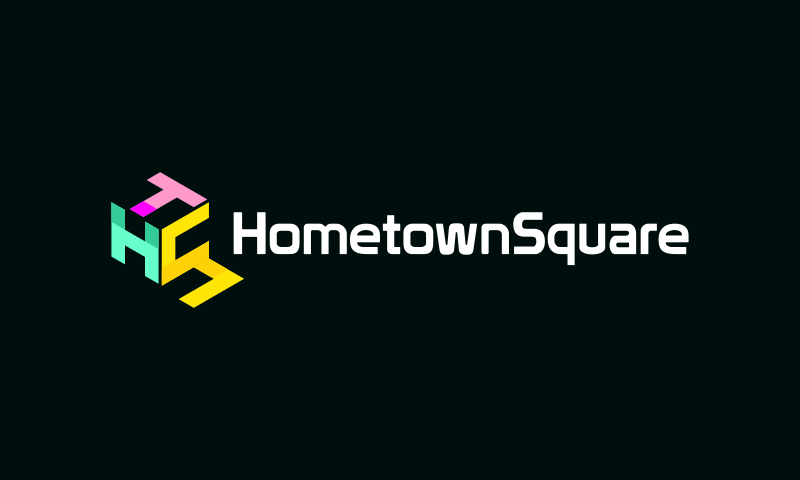 Hometownsquare - E-commerce business name for sale