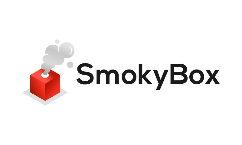 Smokybox - Contemporary business name for sale