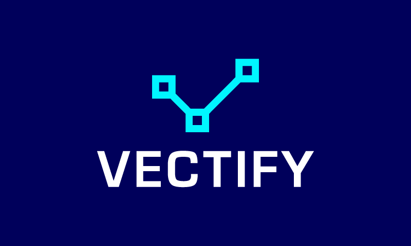 Vectify - Design startup name for sale