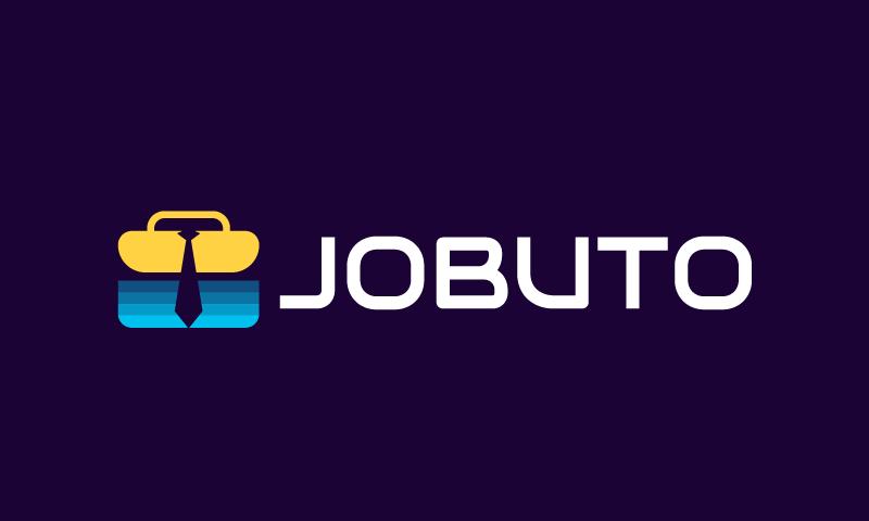 Jobuto - Recruitment startup name for sale