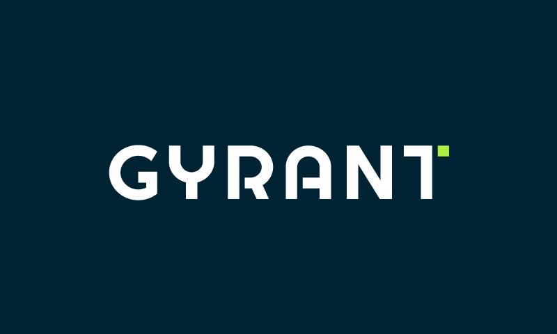 Gyrant - Technology domain name for sale
