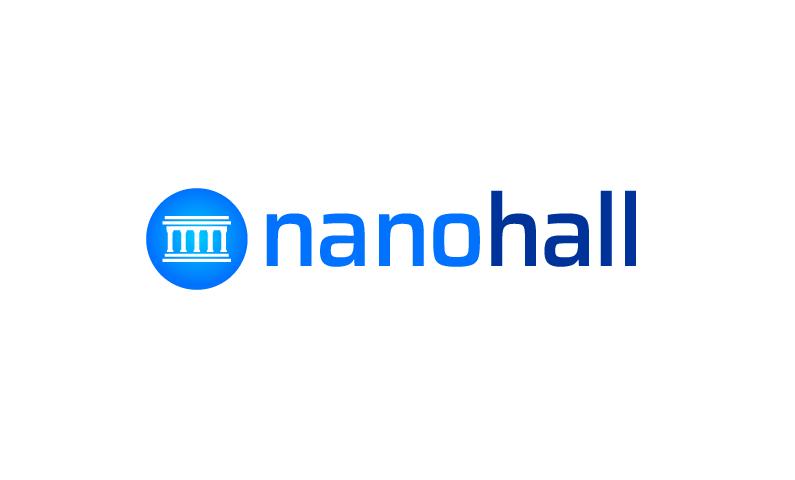 NanoHall logo