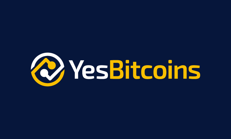Yesbitcoins - Cryptocurrency startup name for sale