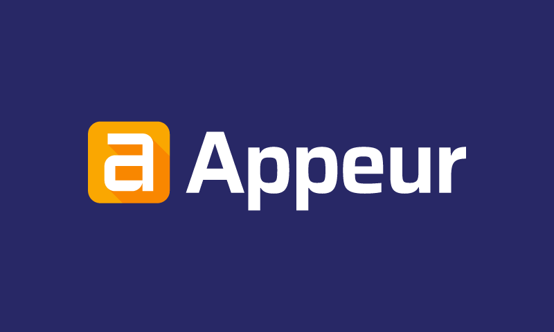 Appeur - Creative startup name for sale